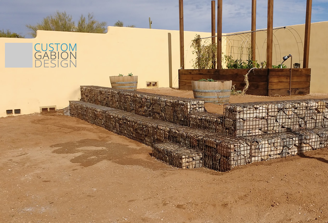 Gabion baskets and Gabion wall design we create beautiful
