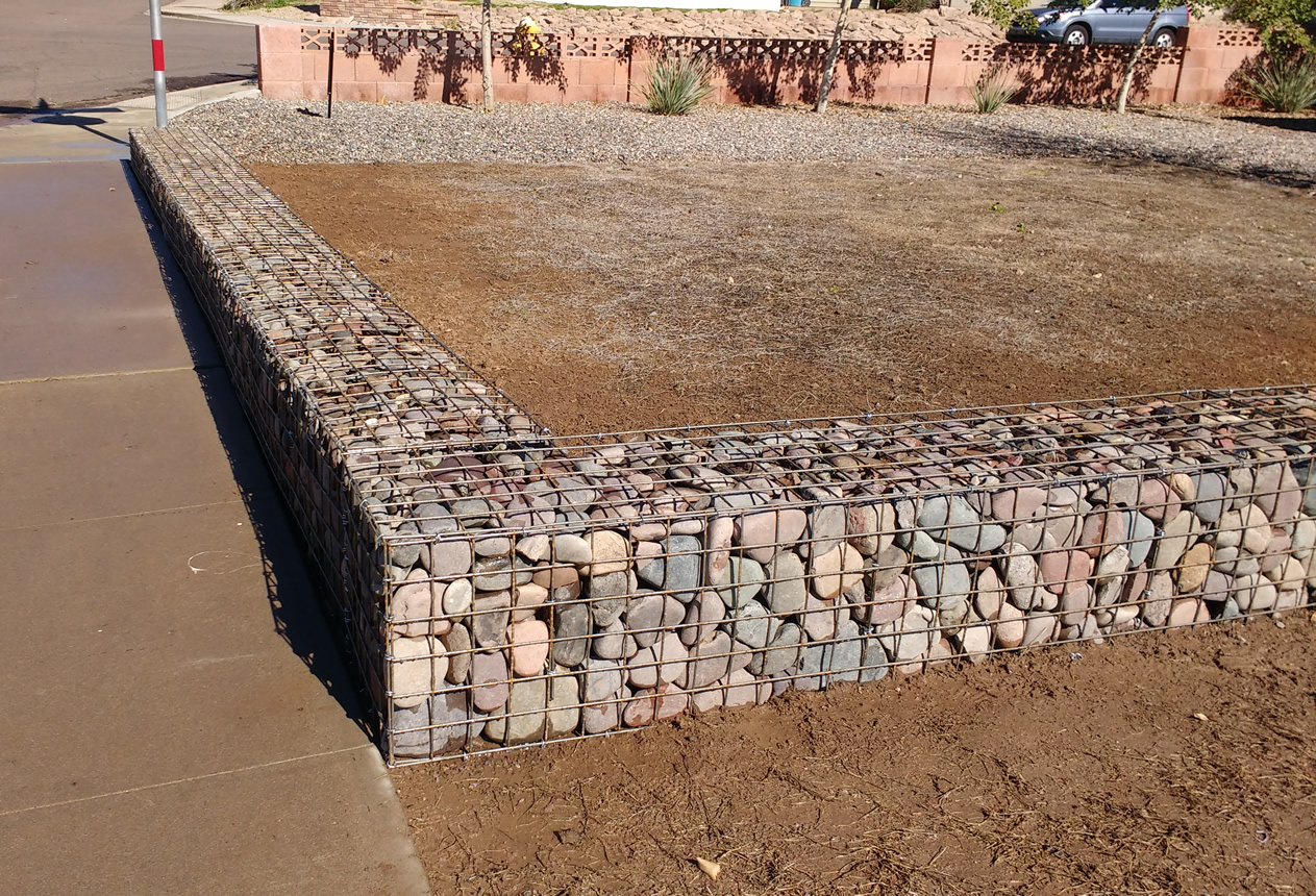 35 gabion walls design temperate climate permaculture Gabion wall design